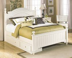 white cottage style bedroom furniture subtle patterns keep this