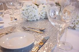 silver sequin table runner shining silver sequin table runners scene my event