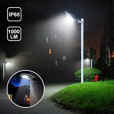 Solar Night Lights by Gbgs Solar Street Light Outdoor Ip65 With Remote Control Wall