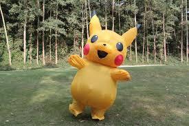 Pikachu Costume Aliexpress Com Buy Inflatable Pikachu Costume Cosplay Inflatable