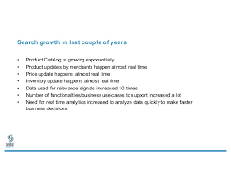 learnings using spark streaming and dataframes for walmart search sp u2026