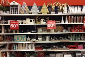 Target Christmas Decor Target 50 Off After Christmas Clearance In Store Decor Oreos