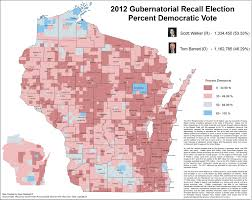Map Of Central Wisconsin by Wisconsin Election Maps And Results University Of Wisconsin Eau
