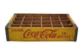 Coca Cola Home Decor Vintage Coca Cola Crate Chairish