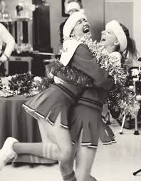 here u0027s a brittana picture for christmas otp pinterest glee