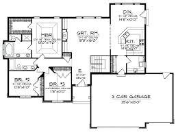 open floor plan ranch style homes open floor plan home designs novic me
