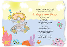 the sea baby shower invitations lifelike baby dolls baby shower invitation