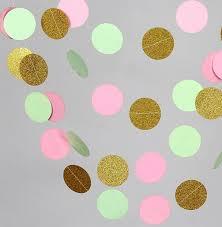 aliexpress com buy 10 feets wedding garland pink mint green