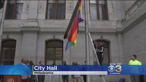 Philadelphia Flag Philly Unveils New Pride Flag Cbs Philly