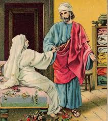 garden of praise peter and dorcas bible story
