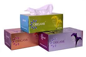 origami so soft 2 ply tissue box 200 pulls 400 sheets per