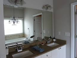 bathroom mirror ideas on wall frameless bathroom mirror complete ideas exle