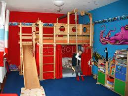 kids bed design playful and decorative kids loft beds with slide