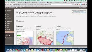 Custom Route Google Maps by Cv In Wordpress Google Maps Youtube