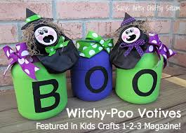 Recycled Halloween Crafts - halloween projects featured in kids crafts 1 2 3 magazine