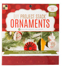 dcwv diy project stack ornaments makes up to 32 pieces