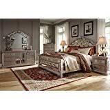 Northshore Bedroom Set Amazon Com Ashley North Shore Sleigh B553 5 Pc Bedroom Set King