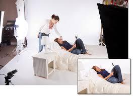 LeggNets Digital Capture White Bedroom Photo Shoot - Bedroom photography studio