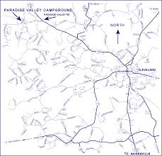 Cleveland Map Maps North Georgia Mountains White U0026 Lumpkin Counties Paradise