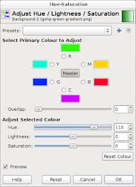 images gimp change one colour to another super user