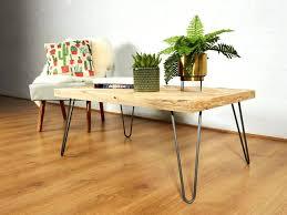 hairpin leg coffee table round hairpin leg coffee table reclaimed chevron pallet coffee table