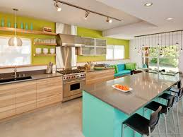 modern kitchen decor with painting trends for 2017 using yellow