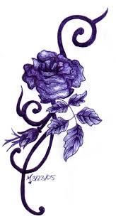 best 25 purple rose tattoos ideas on pinterest colorful rose
