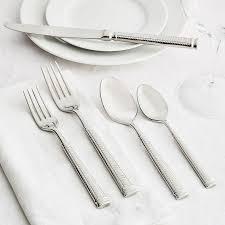 sur la table flatware fortessa vivi flatware set of 5 sur la table tablescapes