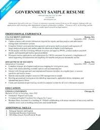 resume exles for government resumes sles government resume template resume sles for