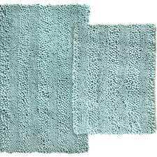 Teal Bath Rugs Scroll 2pc Bath Rug Set U2013 Marburn Curtains