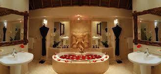 romantic bathroom decorating ideas perfect valentine idea in large bathroom with center bathtub with