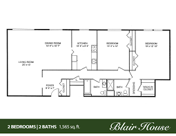 2 bedroom bath apartment floor plans flat plan drawing two
