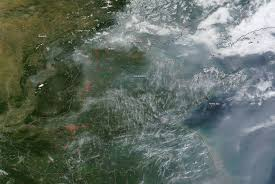 Wildfire Bc Interactive Map by Canadian Wildfires Burning In Yukon Territory Nasa