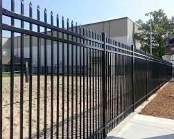 ornamental fence robinson fence springfield mo wood fencing