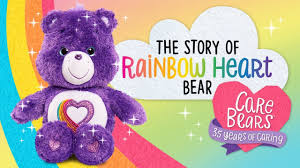 care bears story rainbow heart bear