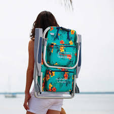 Beach Chairs Tommy Bahama Amazon Com 2 Tommy Bahama Backpack Beach Chairs Turquoise 1