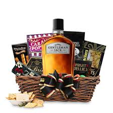 whiskey gift basket buy gentleman tennessee whiskey gift basket online free