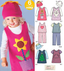 fleece jumper pattern toddler sewing pattern toddlers pants jumper top and hat simplicity 5317
