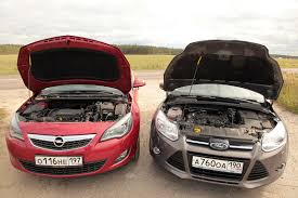 opel ford тест драйв opel astra 2010 и ford focus 3 2011 astra vs focus 3