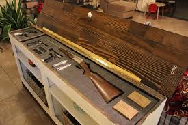Make Your Own Gun Cabinet Hidden Firearms Concealment Furniture U2013 Sofa Table Bookcase With