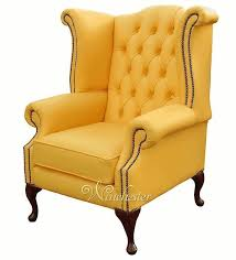 Chesterfield Wing Armchair Chesterfield Queen Anne High Back Wing Chair Uk Manufactured