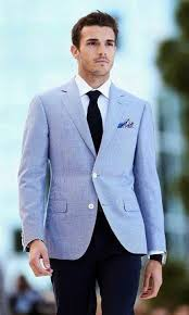 How To Wear A Light Blue Blazer 75 Looks Men S Fashion