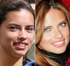 5 photos of adriana lima before and after plastic surgery the 3 types of cosmetic surgery she s had include t implants botox and nose job