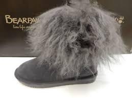 bearpaw womens boots size 9 bearpaw womens boots boo charcoal size 9 ebay