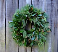 evergreen magnolia wreath ky michler s florist