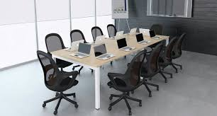 Rectangular Meeting Table With Metal U Leg A 2 Z Office Supply