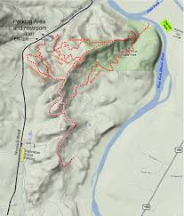 Oak Mountain State Park Trail Map by Trails Highway 199