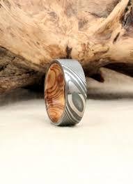 bethlehem olive wood wrought twisted damascus steel and bethlehem olivewood wooden