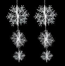snowflake decorations wholesale 50 sets christmas decorations snowflake christmas