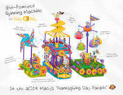 thanksgiving glitter images goldieblox toys get a float in the macy u0027s thanksgiving day parade